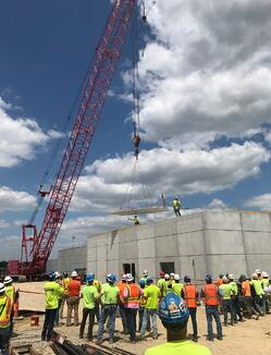 Lansing Correctional Topping Off 20190724-1