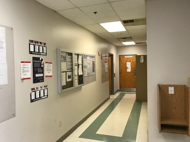 Secondary image - South Raleigh hallway