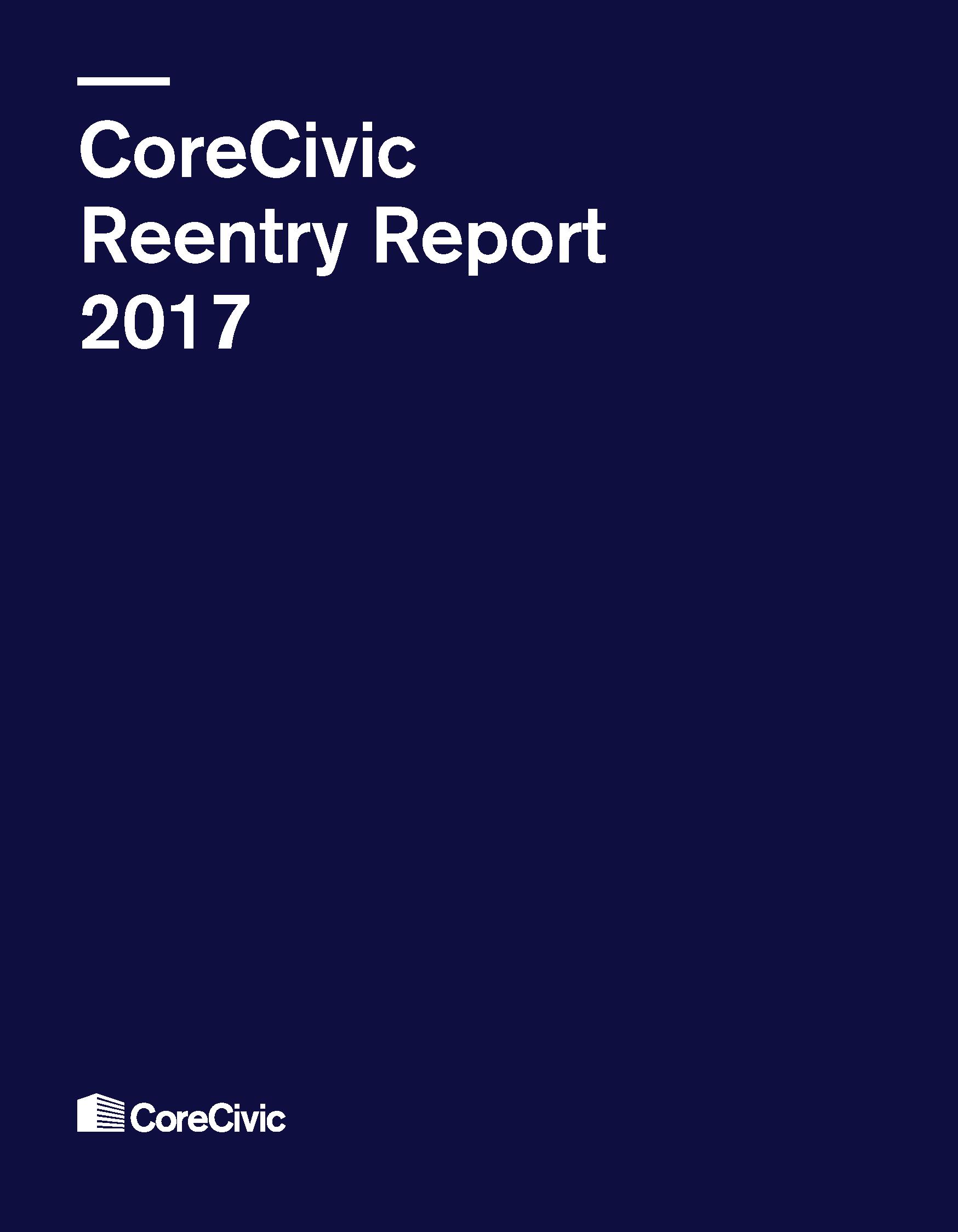 CoreCivic_ReentryReport_COVER_3.8.18